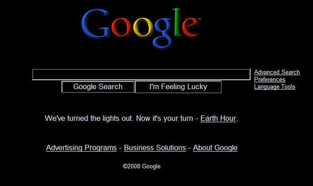 Googlegoesblack